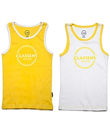 Claesens Vests Sleeveless - Pack Of 2