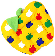 Babyhug Fruit Shape Pillow With Rai Seed Filling - Yellow