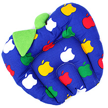 Babyhug Fruit Shape Pillow With Rai Seed Filling - Blue