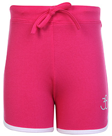 SAPS Plain Shorts Pink