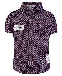 FS Mini Klub Half Sleeves Shirt - Star Print