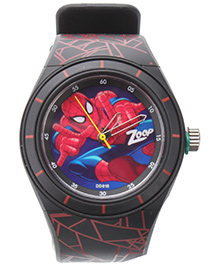 Titan Zoop Analog Wrist Watch - Black and Red