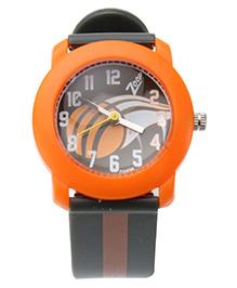 Titan Zoop Analog Wrist Watch - Orange and Black