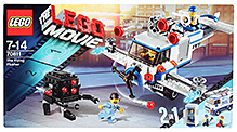 Lego The Flying Flusher Building Set- 351 Pieces