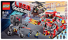 Lego Rescue Reinforcements Building Set- 859 Pieces