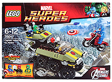 Lego Captain America vs. Hydra Building Set- 172 Pieces