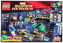 Lego Hulk Lab Smash Building Set- 398 Pieces