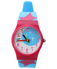 Titan Zoop Analog Wrist Watch - Pink and Light Blue