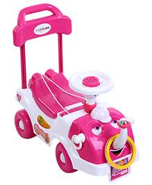 Toyzone Jumbo Rider - Pink and White