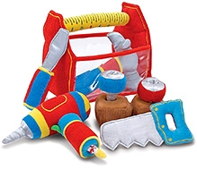 Melissa and Doug Toolbox Fill and Spill Toddler Toy