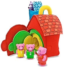 Melissa and Doug Three Little Pigs Play Set
