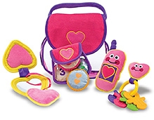 Melissa & Doug Pretty Purse Fill and Spill toy- 5+ Pieces