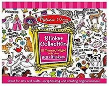 Melissa & Doug Pink Multi Sticker Collection- 800 Pieces