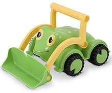 Melissa and Doug Froggy Bulldozer Toy - Green