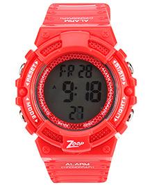 Titan Zoop Digital Wrist Watch - Red