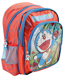 Doraemon Backpack Red - 14 Inches
