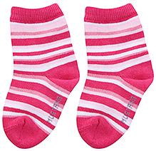 Mustang Ankle Length Stripes Print Socks