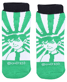 Ben 10 Ankle Length Boy Print Socks