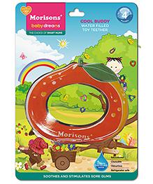 Morisons Baby Dreams Water Filled Toy Teether Fruit Shape - Orange