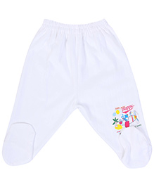 Fun Bootie Legging Puppy Print