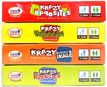 Krazy Combo Games Set Of 4 - Pack of 4