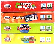 Krazy Combo Games Set 5 - Pack of 4