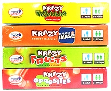 Krazy Combo Games Set 6 - Pack of 4