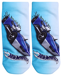 Hotwheels Ankle Length Printed Socks