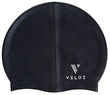Veloz Silicon Plain Swim Cap
