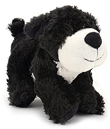 Play N Pets Small Dog Soft Toy - Black