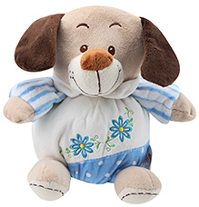 Play N Pets Sitting Baby Dog- 20 cm