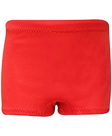 Veloz Swimming Trunk Plain - Red