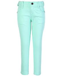 Dreamszone Full Length Trouser - Light Green