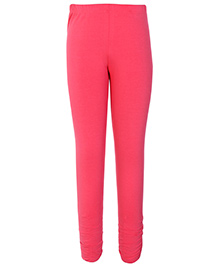 Dreamszone Full Length Leggings with Elastic - Red
