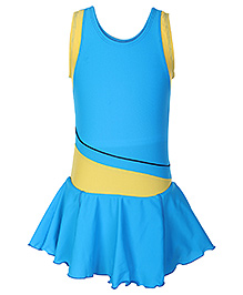 Freestyle Sleeveless Frock Style Swim Wear