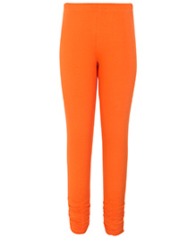 Dreamszone Full Length Leggings with Elastic - Peach