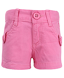 Dreamszone Shorts With Belt Loops - Pink