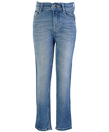 Dreamszone Full Length Denim Jeans - Light Blue