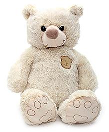 Play N Pets Teddy Bear Soft Toy Cream - 45 cm