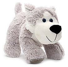 Play N Pets Doggy Soft Toy Grey - 26 cm