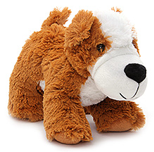 Play N Pets Doggy Soft Toy Brown - 18 cm