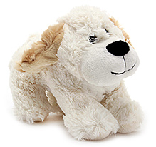 Play N Pets Doggy Soft Toy White - 18 cm