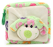 Play N Pets CD Case with Plush Toy Green - Doggy