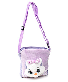 Play N Pets Cat Design Bag - Purple
