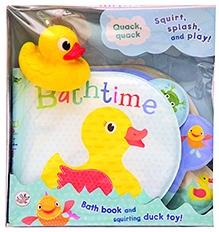 Parragon Bath Time Squirt Splash And Play - English