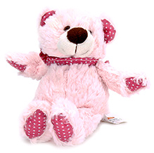 Play N Pets Teddy Bear Soft Toy Light Pink - 20 Cm