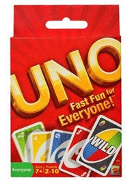 Mattel UNO Fast Fun For Everyone 7 Years+, 2 to 10 Players, Build up your child interpersonal skills and...