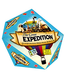 MadRat Board Game - The Great Expedition