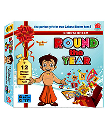 MadRat Board Game - Chhota Bheem Round The Year - 4 To 12 Years