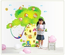 Rc Tots Tree House Swing Wall Sticker